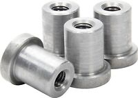"Weld on Nuts 3/8""-16 Thread LONG Threaded Nut Steel Chassis Mount Tab Pack of 4"