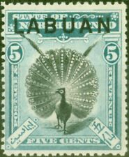 Labuan 1897 5c Green SG92 Very Fine MNH