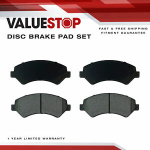 Front Ceramic Brake Pads for Fiat Ducato; Ram ProMaster 1500, 2500, 3500