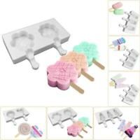 Silicone Popsicle Ice Cream Mold Ice Maker Dessert Baking DIY Mould