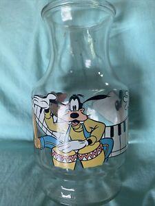 Vintage Anchor Hocking Disney Decanter Mickey Minnie Goofy No Lid