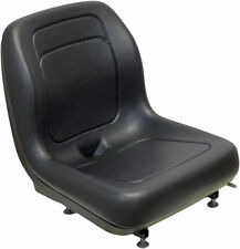 FORD NEW HOLLAND SKID STEER SEAT BLK FITS LX465, LX485, LX565, LX665, LX865 #QJ