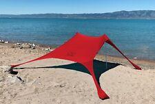 Shades Large Beach Shelter Red | Sun Shade