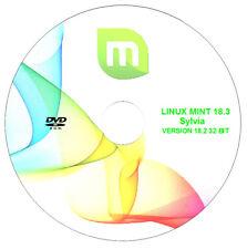 "Operating System - Linux Mint 18.3 ""Sylvia"" Cinnamon - 32-bit Live/Install Disc"