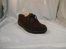Birkenstock Brown Suede Lace Up Shoes w/ Removable Insoles Ladies Sz 6  ; 36 EU