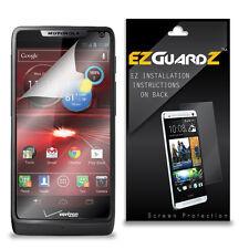4X EZguardz LCD Screen Protector Skin Cover Shield HD 4X For Motorola Luge