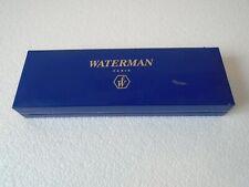 More details for waterman laureat  fountain pen & roller ball pen set - blue marble, france