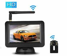 Car Backup Camera Wireless Rear View Parking Night Vision System 4.3inch Monitor