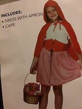 Red Riding Hood - Dress Up- Bookweek - Size 3/5 New