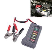 12V Digital Battery Alternator Tester with 6 LED Lights Display Fit Car Auto