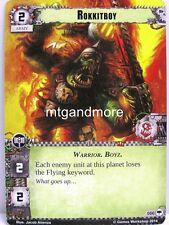Warhammer 40000 Conquest LCG - Rokkitboy  #066 - Base Set