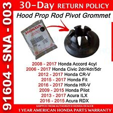 🔥Genuine OEM Honda Accord Civic CR-V Pilot Fit HR-V Hood Prop Rod Pivot Grommet