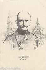 General von Beseler Künstler-AK Wirsing Soldaten Militaria 1604580