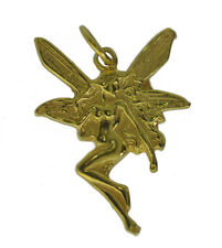 24K Yellow Gold Plated Fairy faith Celtic jewelry charm Faerie Lore of Ireland