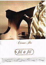 Publicité Advertising 1984 Les Chemises pour homme Fil à fil