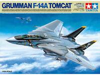 Tamiya 61114 1/48 Scale Model Aircraft Kit U.S Navy Grumman F-14A Tomcat Fighter