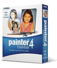 Corel Painter Essentials 4 Windows und Mac Grafiksoftware Grafikprogramm