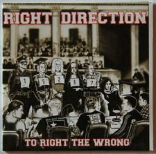 Right Direction To Right The Wrong 1998 Adv CardPS CD