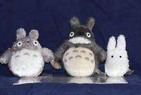 STUDIO GHIBLI My Neighbor Totoro TOTORO Stuffed PLUSH DOLL TOY ( a set of 3pcs)
