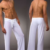 Men Loose Yoga Pants Sports Home Casual Trousers Lounge Pantalons Trunks Sport