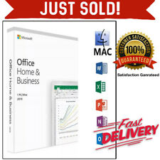 Microsoft Office Home and Business 2019 For Mac Lifetime,word,powerpoint,outlouk