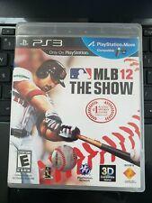 Mlb 12: el show-Sony PlayStation 3 juego PS3-disco y el caso