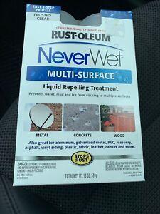 Never Wet Rust-Oleum 18 oz NeverWet Multi Purpose Protector Spray Kit Waterproof