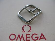 NOS Omega 14mm Stainless Steel Vintage Watch Strap Buckle - VERY RARE!