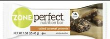 ZonePerfect Nutrition Snack Bars, Salted Caramel Brownie, 1.58 oz, (12 Count)