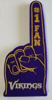 Minnesota Vikings Foam Finger #1 Fan Hand - 18 in! Great for Game Day Party!