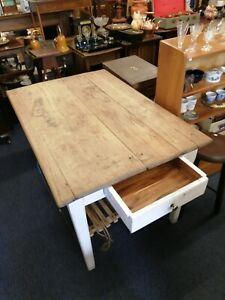 Vintage Farmhouse kitchen table.