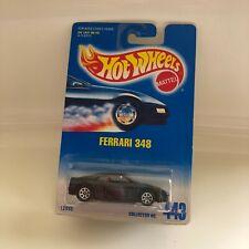 Hot Wheels Mattel Ferrari 348 Collector#443 Black GB10