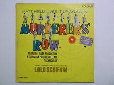 Murderer's Row Soundtrack 1967 VINYL LP COMO 5003 Matt Helm RARE
