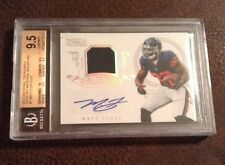 National Treasures Century Materials Jersey Autograph Matt Forte 21/25 Bgs 9.5
