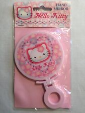 Vintage 1998 Sanrio Hello Kitty Mirror Hand Held Fold Up Stand Made In Japan NIP
