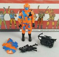 Original 1989 GI JOE ALLEY VIPER V1 ARAH not Complete UNBROKEN fig Cobra TIGHT!
