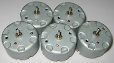 5 X Mabuchi RF-500 DC 6V Motor - 1.5 to 12 VDC - Watch Winder Low Current Motors
