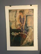 """Olympian Myth"" Janet Trely ~ Signed Serigraph 69/385"