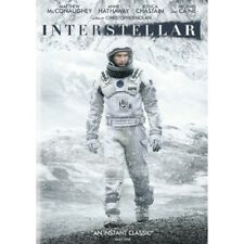 Matthew McConaughey Interstellar DVD 2014 PAL Region 2
