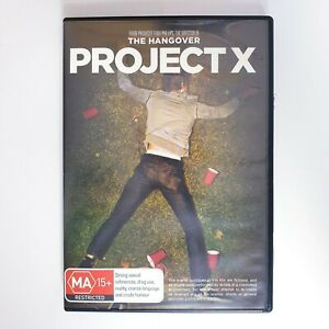 Project X Movie DVD Region 4 AUS Free Postage - Action Comedy