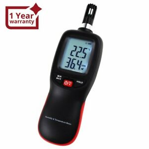 Digital Humidity Temperature Meter Psychrometer Thermo-Hygrometer 999 Sets Data