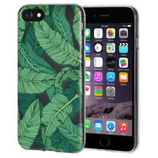 Soft Gel Premium TPU Graphic Skin Case Cover for iPhone 6 6s - Tropical Leaf