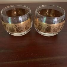 Pair Culver Small Roly Poly Glasses Florentine