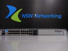 HP Procurve J9279A 2510G-24 24-Port Managed Gigabit Switch w/ Rack Ears