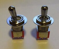 FENDER LEAD I & II SERIES GUITAR REPLACEMENT SWITCHES, PAIR, AFTERMARKET TOGGLES