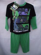 BNWT Boys Sz 3 Official Long Stretch Style Ben 10 Pyjama Set