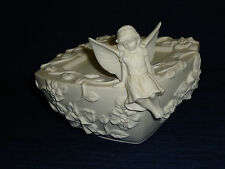 Partylite Enchanted Pixie Angel Fairy Girl Pillar Candle Holder