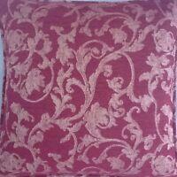 A 16 Inch Cushion Cover In Laura Ashley Chavalier Raspberry Fabric