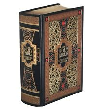 ❤️THE HOLY BIBLE King James Version Gustave Dore Illustrated Leather Bound NEW