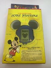 Disney Mickey Minnie Love Future Blue Virtual Pet like Tamagotchi Japan